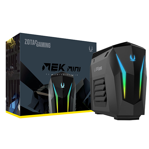 ZOTAC GAMING MEK MINI RGB - RTX2060 SUPER (M2 SSD 240GB + 1TB HDD, WIN10 포함)