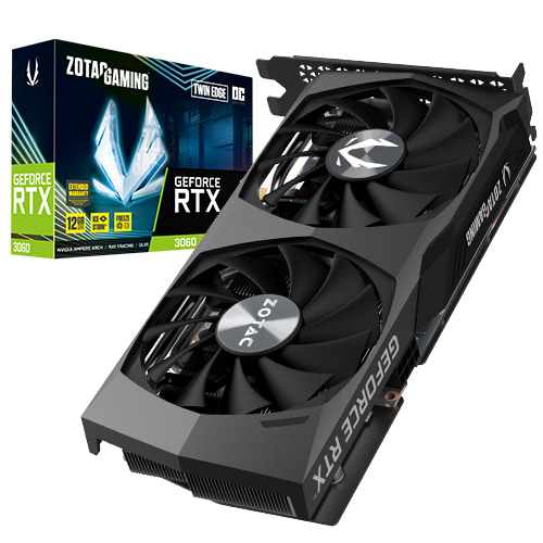 ZOTAC GeForce RTX 3060 TwinEdge OC D6 12GB