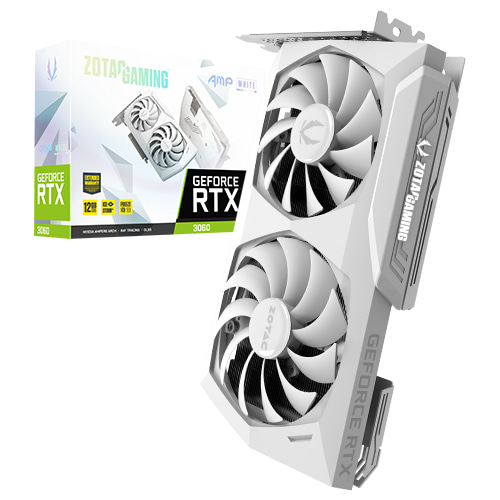 ZOTAC GeForce RTX 3060 AMP White D6 12GB